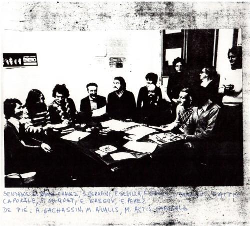 Reunion Poetas Venado Tuerto 1976 - 1983